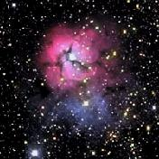 Trifid Nebula M20 in Scorpio